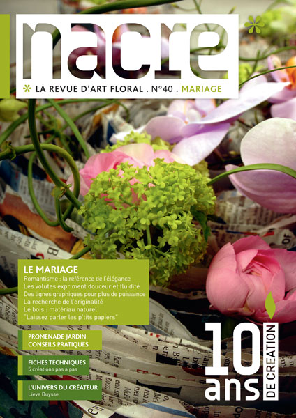 Nacre magazine la r f rence de l art floral et de la for Art et decoration magazine feuilleter